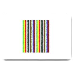 Vivid Colors Curly Stripes   2 Large Door Mat by BestCustomGiftsForYou