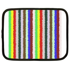 Vivid Colors Curly Stripes   2 Netbook Sleeve (xl) by BestCustomGiftsForYou