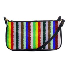 Vivid Colors Curly Stripes   2 Evening Bag by BestCustomGiftsForYou