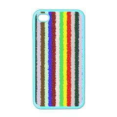 Vivid Colors Curly Stripes   2 Apple Iphone 4 Case (color) by BestCustomGiftsForYou