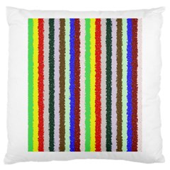 Vivid Colors Curly Stripes   2 Large Cushion Case (two Sided)  by BestCustomGiftsForYou