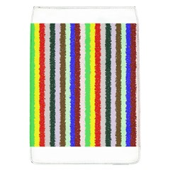 Vivid Colors Curly Stripes - 2 Removable Flap Cover (Large)