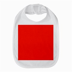 Bright Red Bib