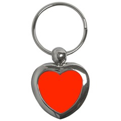 Bright Red Key Chain (heart)