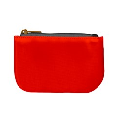 Bright Red Coin Change Purse