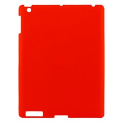 Bright Red Apple Ipad 3/4 Hardshell Case by BestCustomGiftsForYou