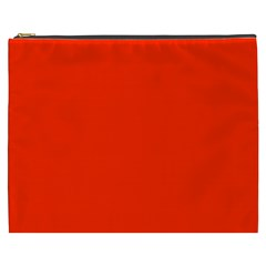 Bright Red Cosmetic Bag (xxxl)