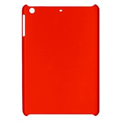 Bright Red Apple Ipad Mini Hardshell Case