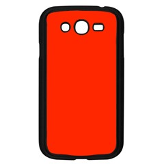 Bright Red Samsung Galaxy Grand Duos I9082 Case (black)