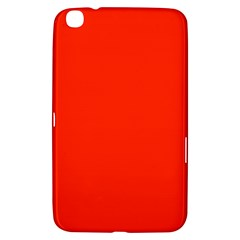 Bright Red Samsung Galaxy Tab 3 (8 ) T3100 Hardshell Case  by BestCustomGiftsForYou