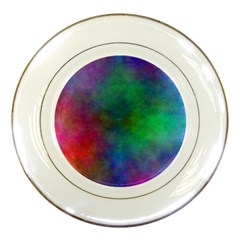 Plasma 1 Porcelain Display Plate by BestCustomGiftsForYou