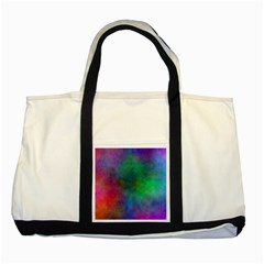 Plasma 1 Two Toned Tote Bag by BestCustomGiftsForYou