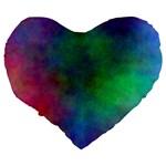 Plasma 1 19  Premium Heart Shape Cushion Back