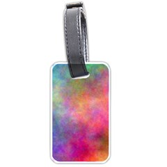 Plasma 4 Luggage Tag (two Sides) by BestCustomGiftsForYou
