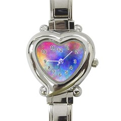 Plasma 5 Heart Italian Charm Watch  by BestCustomGiftsForYou