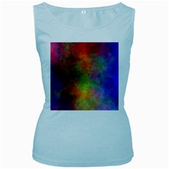 Plasma 9 Women s Tank Top (baby Blue) by BestCustomGiftsForYou
