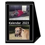 Black and White mutli photo Calendar 2018 - Desktop Calendar 6  x 8.5