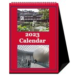 Red and White Multi Photo Calendar 2017 - Desktop Calendar 6  x 8.5