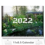 2015 any occassion calendar - Wall Calendar 11  x 8.5  (12-Months)