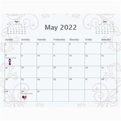 2019 Any Occassion Calendar By Kim Blair   Wall Calendar 11  X 8 5  (12 Months)   Tbt17lomzz0a   Www Artscow Com May 2019