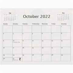 2019 Any Occassion Calendar By Kim Blair   Wall Calendar 11  X 8 5  (12 Months)   Tbt17lomzz0a   Www Artscow Com Oct 2019