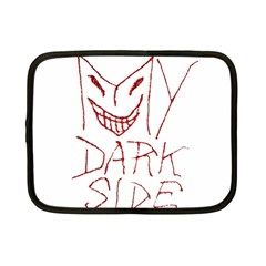 My Dark Side Typographic Design Netbook Sleeve (small) by dflcprints