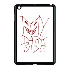 My Dark Side Typographic Design Apple Ipad Mini Case (black) by dflcprints