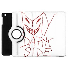 My Dark Side Typographic Design Apple Ipad Mini Flip 360 Case by dflcprints