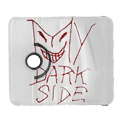 My Dark Side Typographic Design Samsung Galaxy S  Iii Flip 360 Case by dflcprints