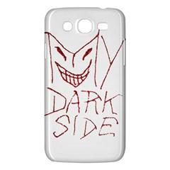My Dark Side Typographic Design Samsung Galaxy Mega 5 8 I9152 Hardshell Case  by dflcprints