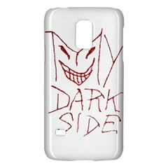 My Dark Side Typographic Design Samsung Galaxy S5 Mini Hardshell Case  by dflcprints
