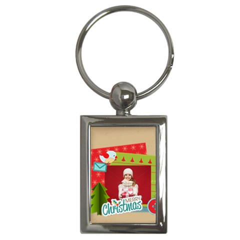 Xmas By Xmas   Key Chain (rectangle)   0h7y6rfe99wr   Www Artscow Com Front