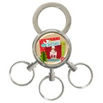 xmas - 3-Ring Key Chain