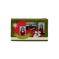 Xmas By Xmas   Cosmetic Bag (small)   6drqtfmt2c8h   Www Artscow Com Back