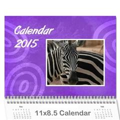 Calendar   2015 By Carmensita   Wall Calendar 11  X 8 5  (12 Months)   Nezltt4phujl   Www Artscow Com Cover