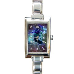 Catch A Falling Star Rectangular Italian Charm Watch by icarusismartdesigns
