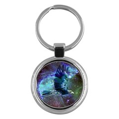 Catch A Falling Star Key Chain (round) by icarusismartdesigns