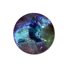 Catch A Falling Star Magnet 3  (round) by icarusismartdesigns