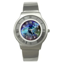Catch A Falling Star Stainless Steel Watch (slim) by icarusismartdesigns