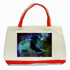 Catch A Falling Star Classic Tote Bag (red) by icarusismartdesigns