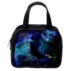Catch A Falling Star Classic Handbag (one Side) by icarusismartdesigns