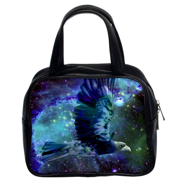 Catch A Falling Star Classic Handbag (Two Sides)