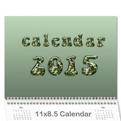 Calendar 2015 By Carmensita   Wall Calendar 11  X 8 5  (12 Months)   Voay65msovt6   Www Artscow Com Cover