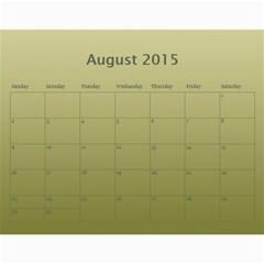 Calendar 2015 By Carmensita   Wall Calendar 11  X 8 5  (12 Months)   Voay65msovt6   Www Artscow Com Aug 2015