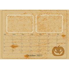 My Calendar 2015 By Carmensita   Desktop Calendar 8 5  X 6    3gaim71cnzpv   Www Artscow Com Oct 2015
