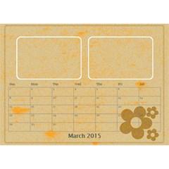 My Calendar 2015 By Carmensita   Desktop Calendar 8 5  X 6    3gaim71cnzpv   Www Artscow Com Mar 2015