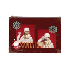 Xmas By Xmas   Cosmetic Bag (large)   7msrep1c47vm   Www Artscow Com Front