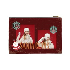 Xmas By Xmas   Cosmetic Bag (large)   7msrep1c47vm   Www Artscow Com Back