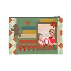 Xmas By Xmas   Cosmetic Bag (large)   4y3f5rluzw02   Www Artscow Com Back