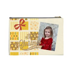 Xmas By Xmas   Cosmetic Bag (large)   6e7u8r2kmifk   Www Artscow Com Back